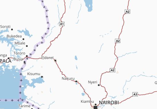 Mapa Plano Rift Valley