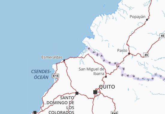 Eloy Alfaro Map