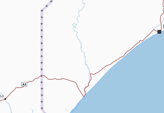 Carte-Plan Middle Juba