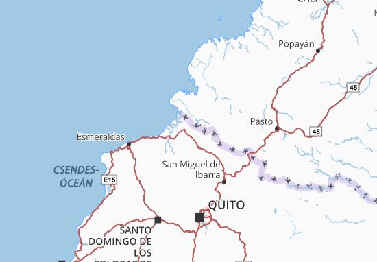 Karte Stadtplan San Lorenzo