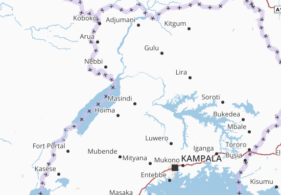 Masindi Map: Detailed maps for the city of Masindi - ViaMichelin