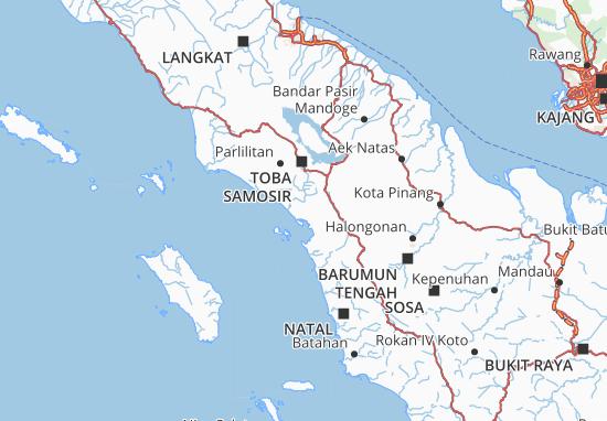 Carte-Plan Sumatera Utara