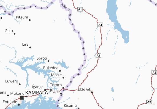 Carte-Plan Nakapiripirit