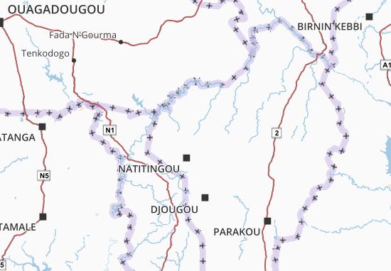 Mappe-Piantine Atakora