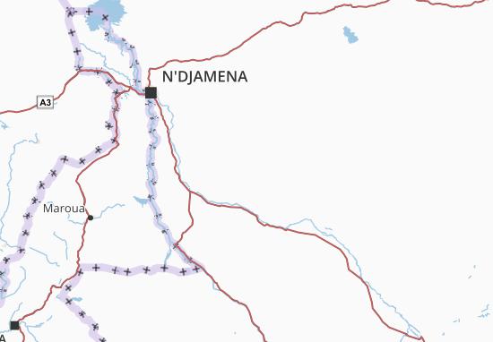 Carte-Plan Chari-Baguirmi