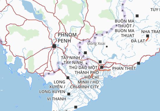 Mappe-Piantine Svay Rieng