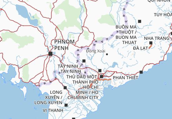 Carte-Plan Tây Ninh