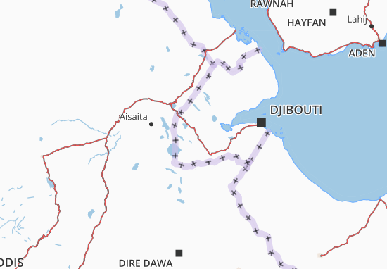 Mapas-Planos Dikhil