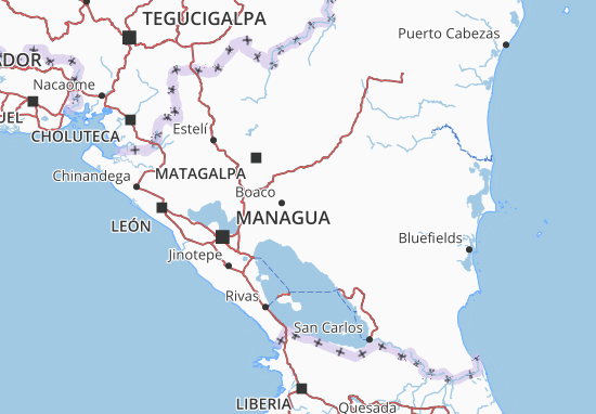 Boaco Map