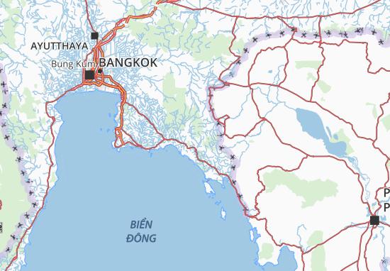 Mapas-Planos Chanthaburi