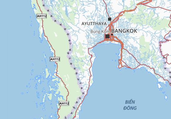 Mappe-Piantine Phetchaburi
