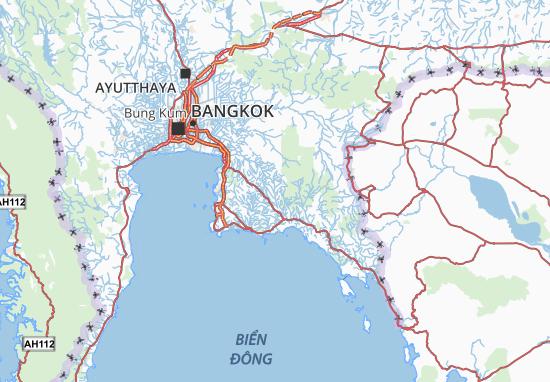 Carte-Plan Prathet Thai