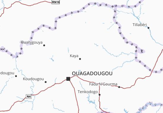 Mapa Plano Centre-Nord