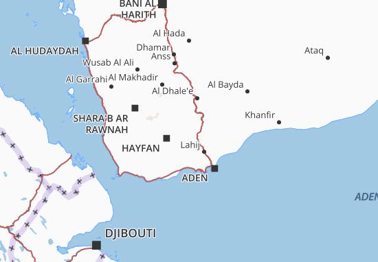 Lahij Map