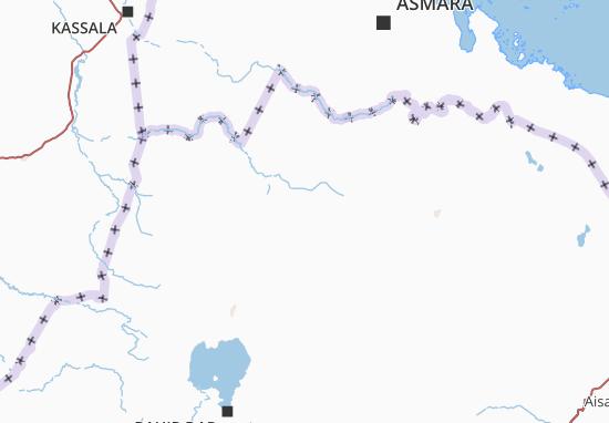 Carte-Plan Tigray