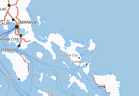 Mappe-Piantine Camarines Sur