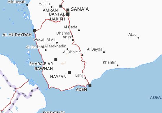 Al Dhale'e Map