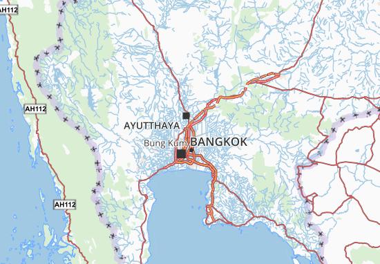 Pathum Thani Map