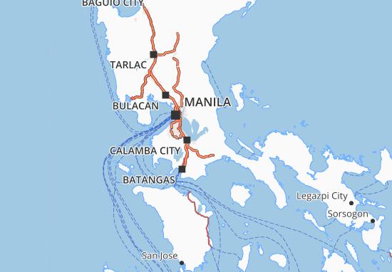 Laguna Map