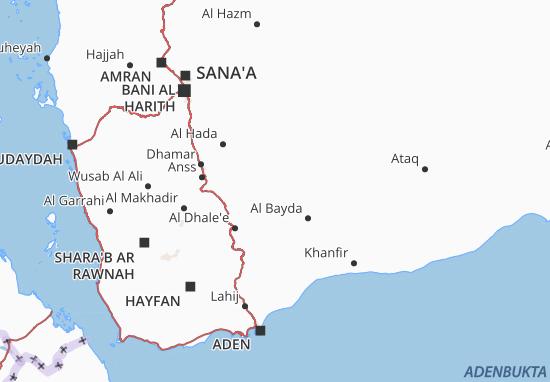 Carte-Plan Al Bayda