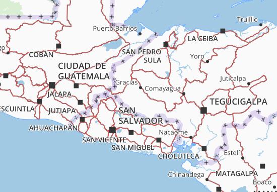 Lempira Map