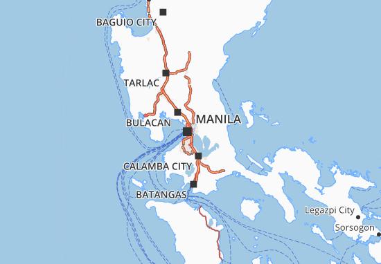 Mappe-Piantine Pambansang Punong Rehiyon