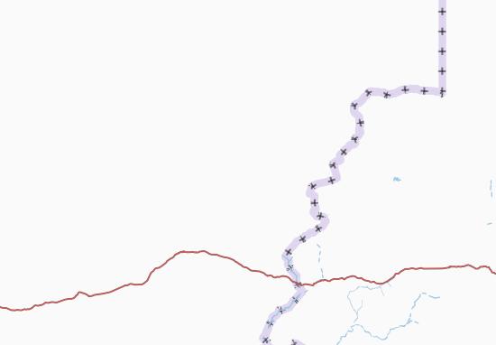 Carte-Plan Wadi Fira