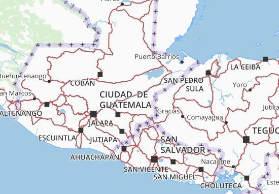 Zacapa Map