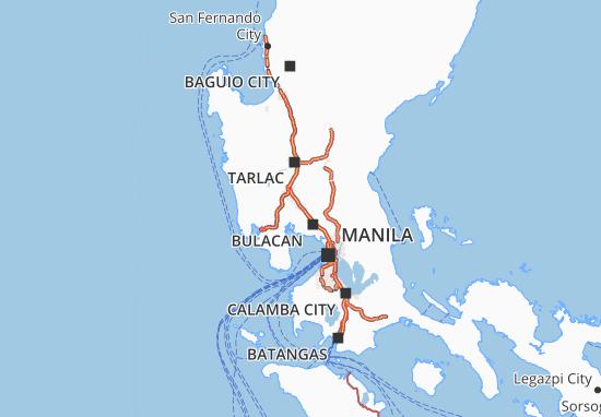 Mappe-Piantine Pampanga
