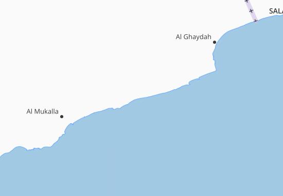 Kaart Plattegrond Hadramaut