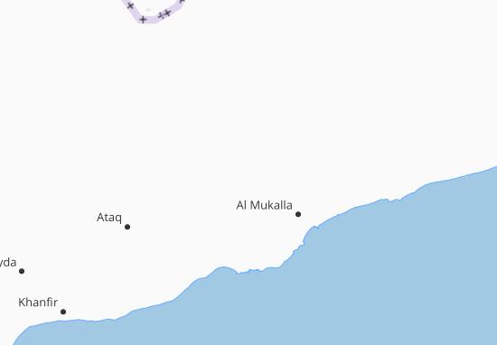 Carte-Plan Al-Yaman