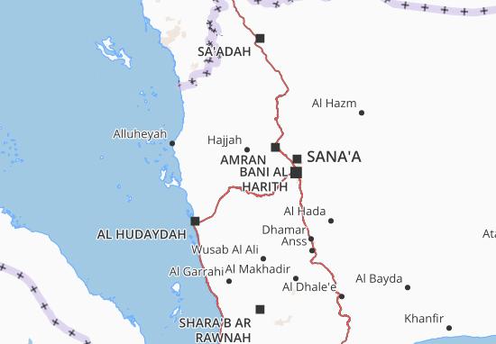 Mapas-Planos Al Mahwit