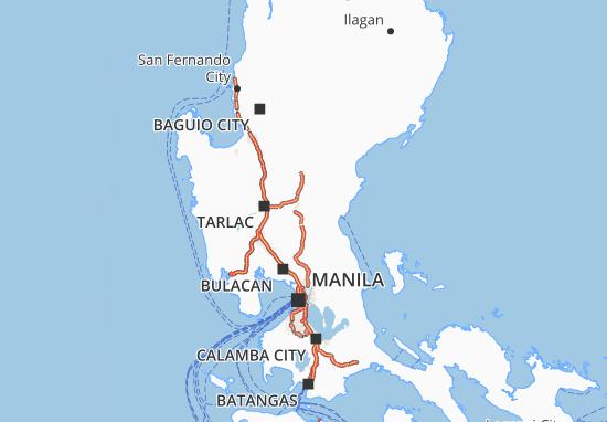 Mappe-Piantine Central Luzon