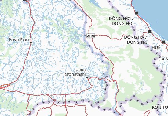 Mapas-Planos Amnat Charoen