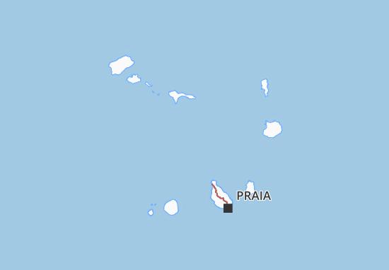 Carte-Plan Cabo Verde