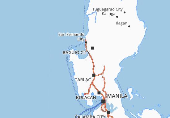 Mappe-Piantine Pangasinan