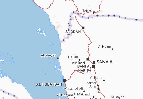 Hajjah Map