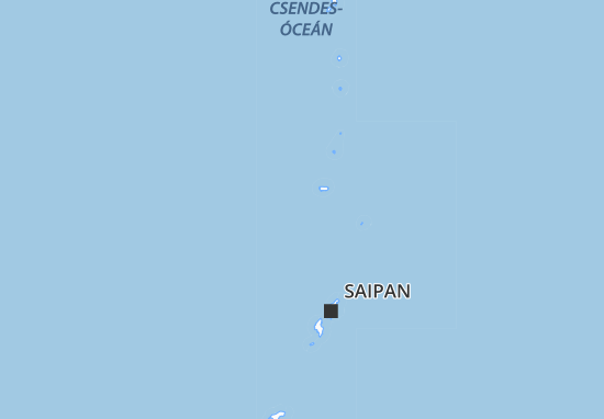 Mapa Plano Northern Mariana Islands