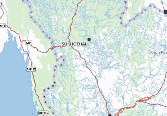 Kamphaeng Phet Map