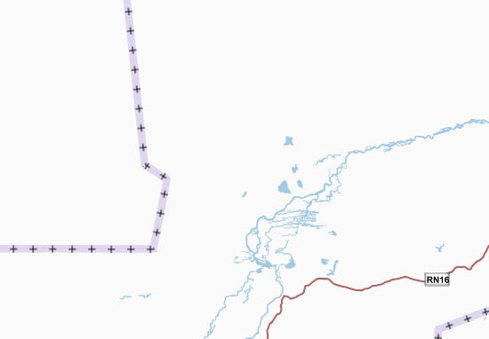Mapa Plano Mali