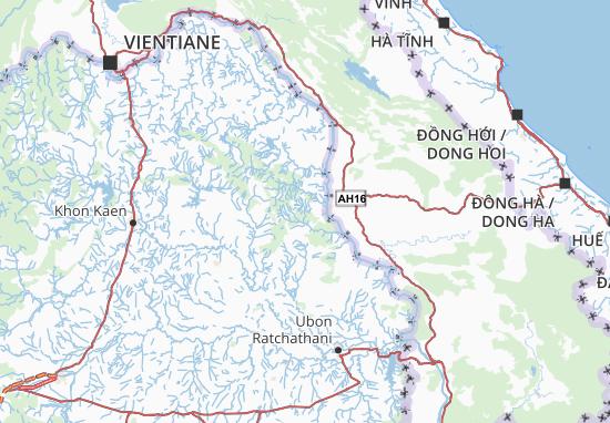 Mukdahan Map