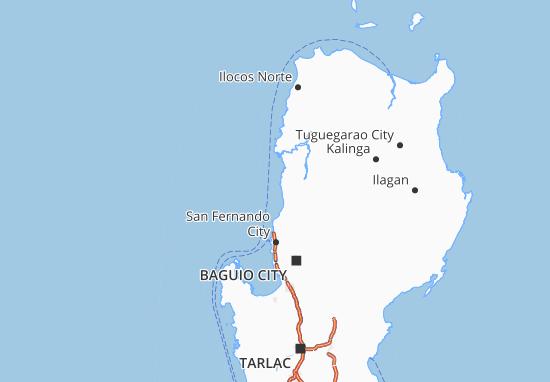 Mappe-Piantine Ilocos Region
