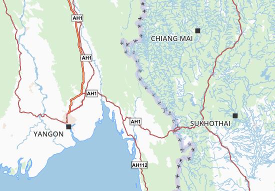 Kaart Plattegrond Karen State
