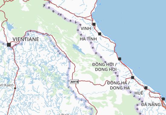 Khammouan Map