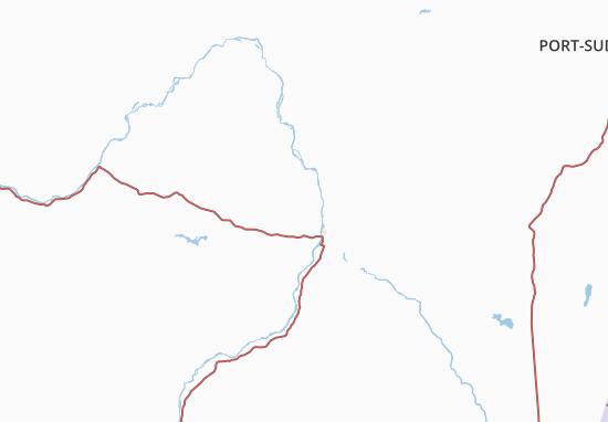 Carte-Plan Nile