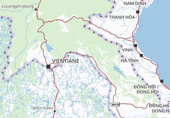 Mappe-Piantine Laos