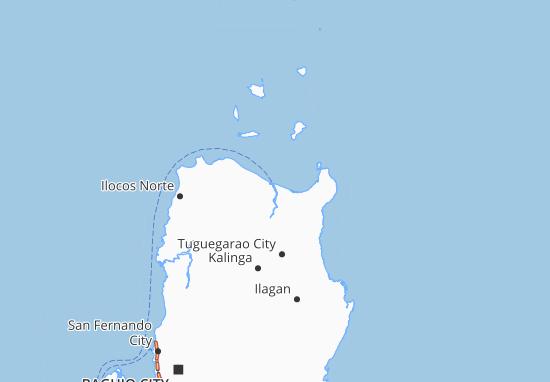 Carte-Plan Cagayan Valley
