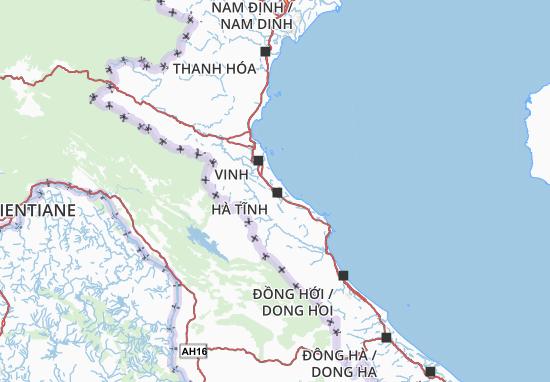 Mapa Hà Tĩnh