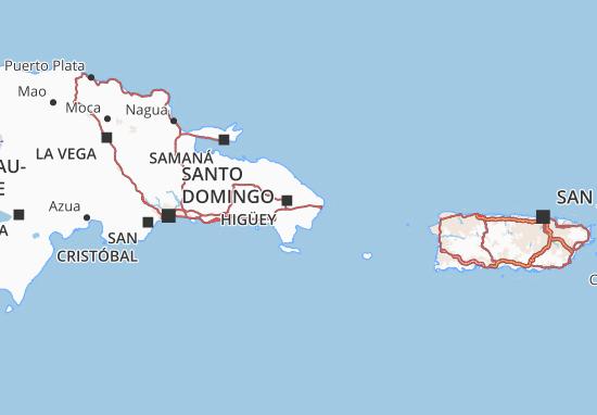La Altagracia Map