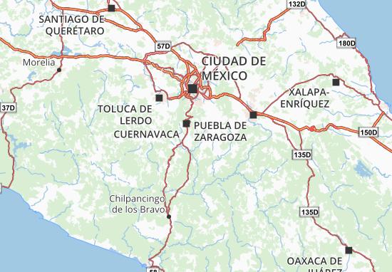 Carte-Plan Morelos